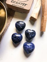 Load image into Gallery viewer, Sodalite Miniature Heart
