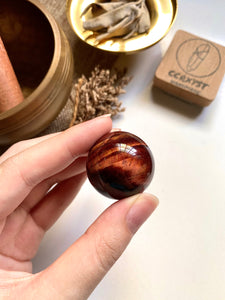 Red Tiger's Eye Sphere