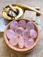 Load image into Gallery viewer, Star Rose Quartz Tumbled