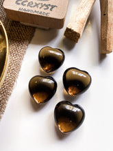 Load image into Gallery viewer, Smokey Quartz Miniature Heart