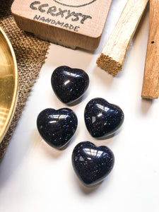 Blue Sandstone Miniature Heart