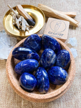 Load image into Gallery viewer, Sodalite Tumbled