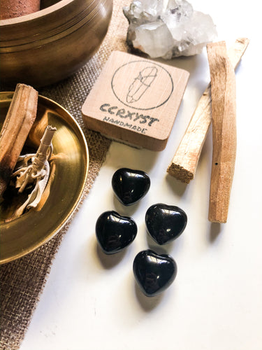 Black Onyx Miniature Heart