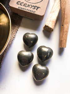 Pyrite Miniature Heart