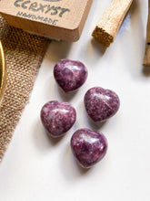 Load image into Gallery viewer, Lepidolite Miniature Heart