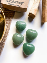 Load image into Gallery viewer, Aventurine Miniature Heart