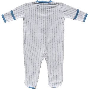 Zippyz Pajamas - Lavender Arrows