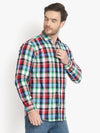 Men's Casual Check Cotton Shirt Code-1027