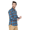 Men's Casual Check Cotton Shirt Code-1024