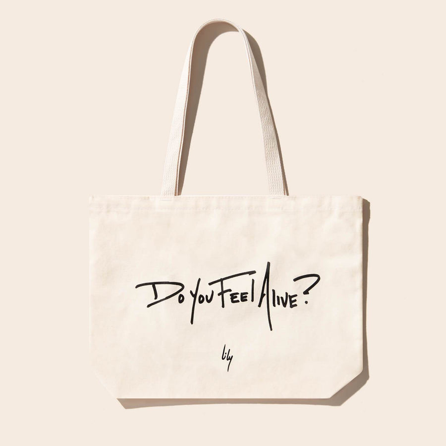 The Feel Alive Tote Bag