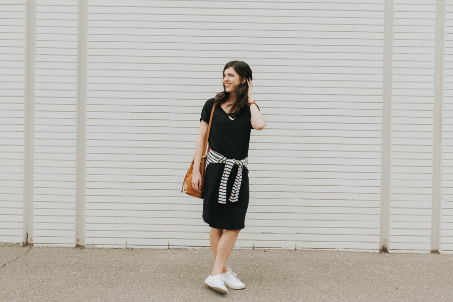 The Slouchy Long Dress