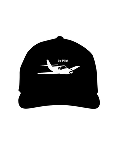 Co-Pilot single Low Cap white