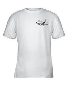 Pilot in training  Twin engine Black art  on light garments