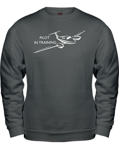 Pilot in Training Youth and Toddler  White Logos