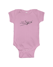 Pilot in Training black logo youth and toddler sizes