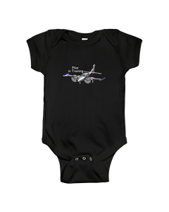 Pilot in Training Twin  White Logo   youth and toddler sizes