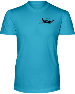 Co- Pilot single Low wing black Logo
