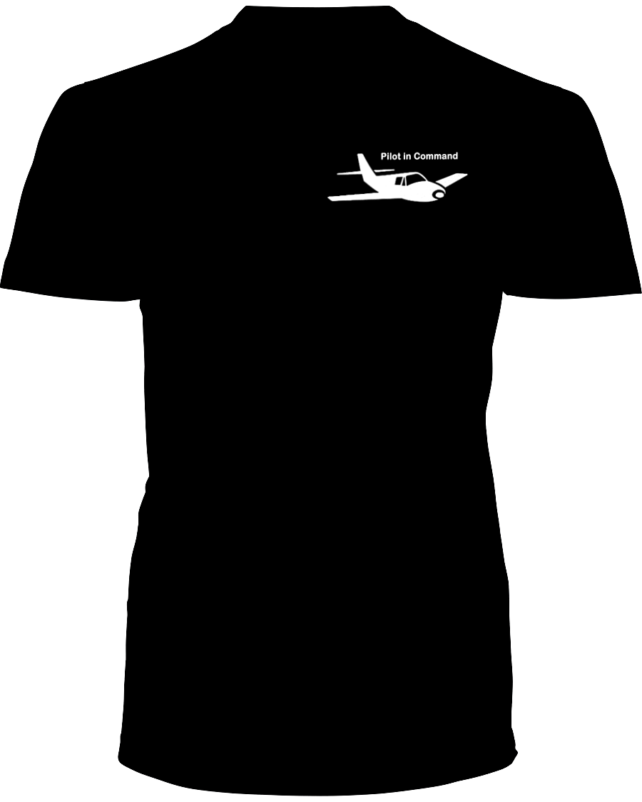 Pilot in Command single Low wing white Logo