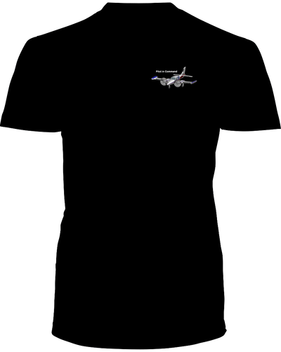 Pilot in Command  Twin White  logo
