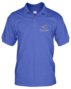 Bessie Coleman polo twin with BPA Patch on Sleeve