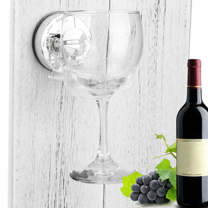 Wine Glass Shower/Bath Holder - Get Unwined