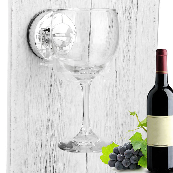 Wine Glass Shower/Bath Holder