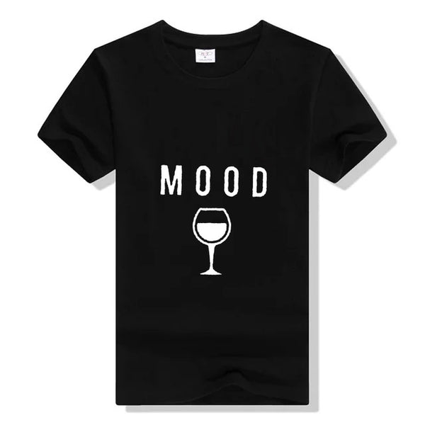 MOOD Wine Graph Ladies t shirt