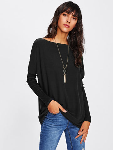Dolman Sleeve Long Tshirt