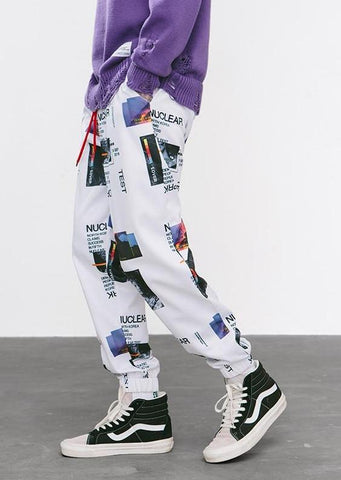 Nuclear Graphic Pants