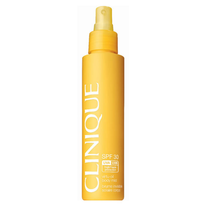 Clinique Virtu Oil Body Mist Sun Spray Spf30 144ml