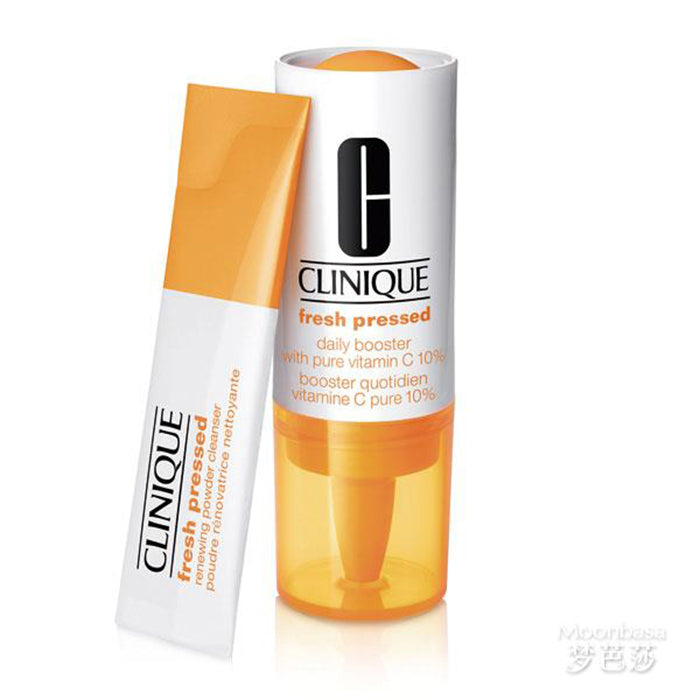 Clinique Fresh Pressed Daily Booster With Pure Vitamin C 10ml GiftSet