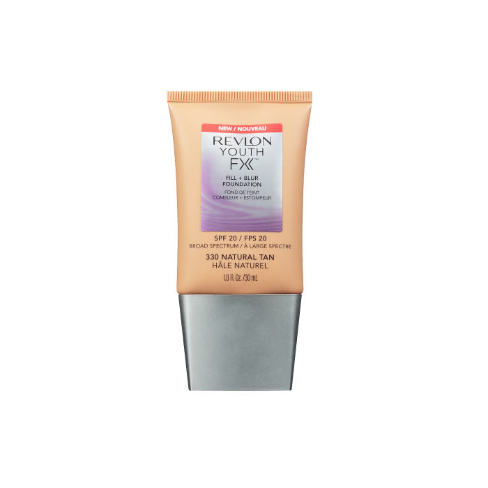 Youth FX Fill + Blur Foundation 330Natural Tan SPF20 30ml