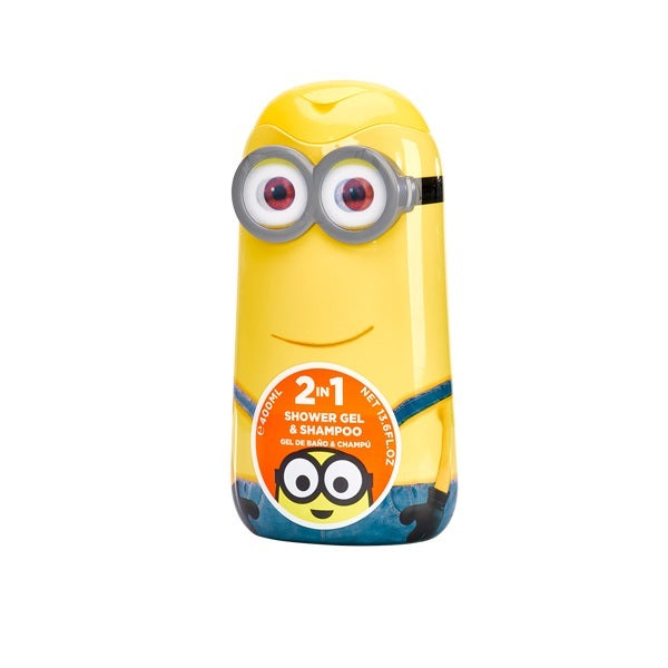 Disney Minions Shower Gel And Shampoo 400ml