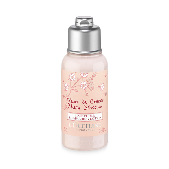 L'occitane Cherry Blossom Shimmering Lotion 75ml