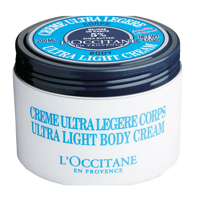 L'Occitane Ultra Light Body Cream Shea 200ml