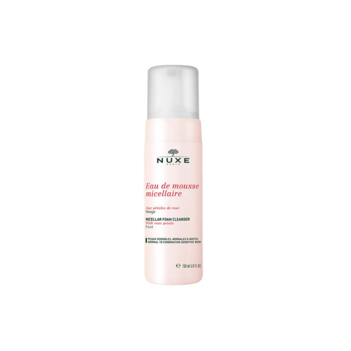 Nuxe Petals De Rose Micellar Foam Cleanser 150ml