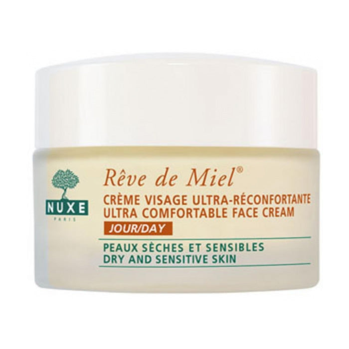 Nuxe Rêve De Miel Ultra Comfortable Face Cream Dry and Sensitive Skin 50ml