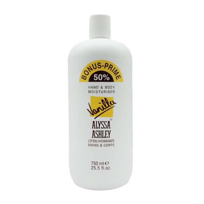 Alyssa Ashley Vanilla Hand And Body Moisturizer 750ml