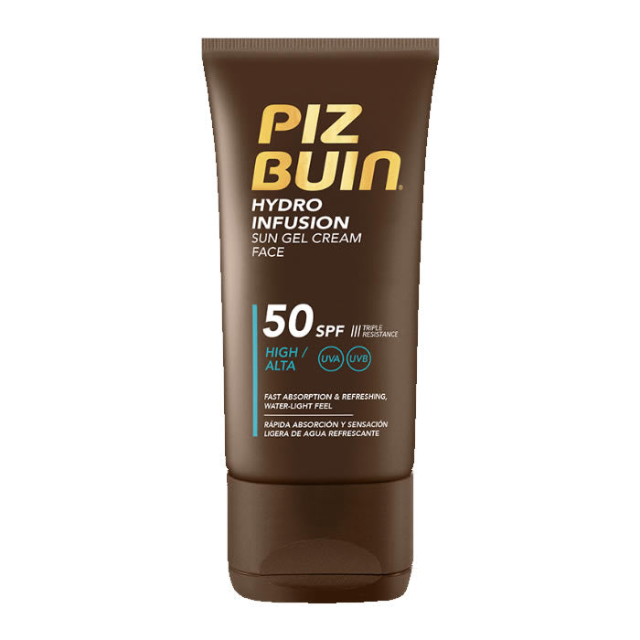 Piz Buin Hydro Infusion Sun Gel Cream Face Spf50 50ml