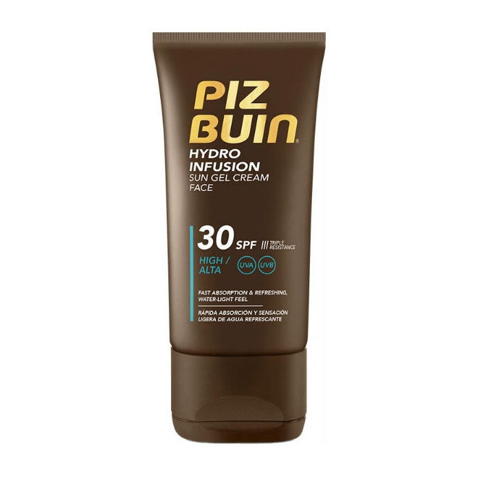 Piz Buin Hydro Infusion Sun Gel Cream Face Spf30 50ml