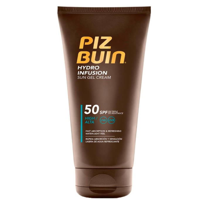 Piz Buin Hydro Infusion Sun Gel Cream Spf50 150ml