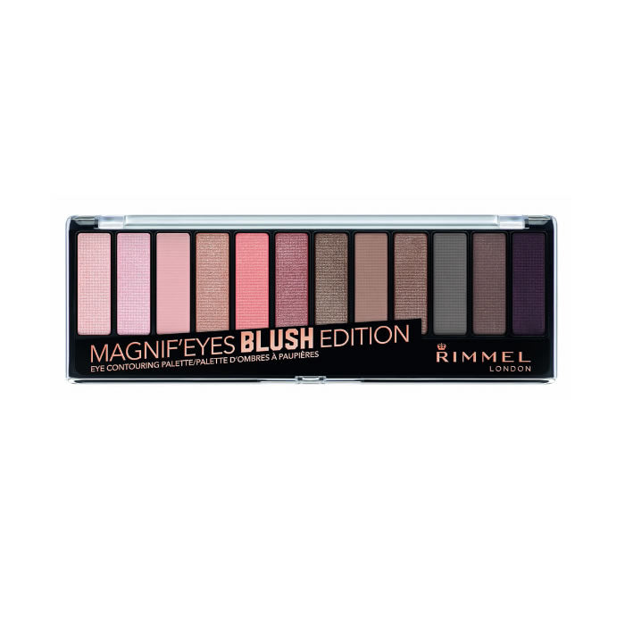 Rimmel Magnif'eyes Eye Contouring Palette Blush Edition 002