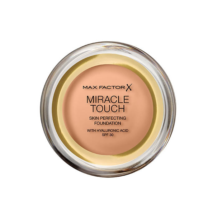 Max Factor Miracle Touch Skin Perfecting Foundation Spf30 085 Caramel