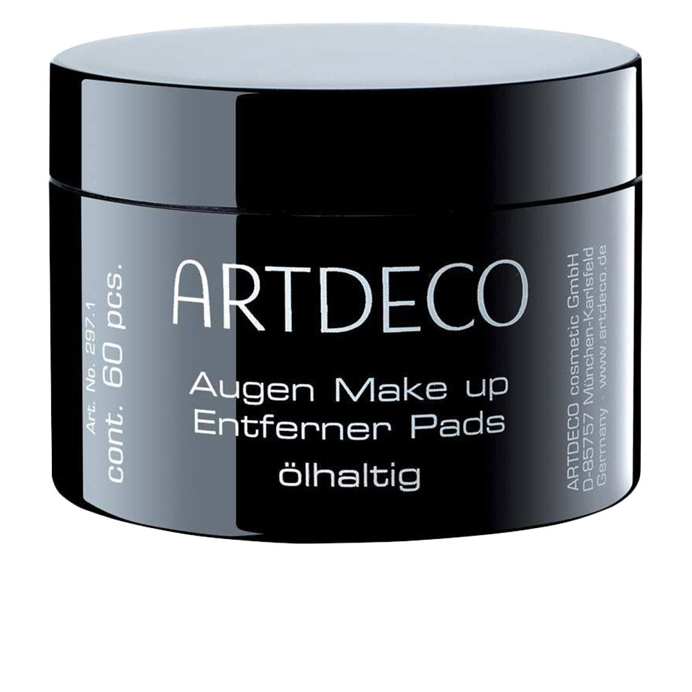 Artdeco Eye Make Up Remover Pads Oily 60 Units