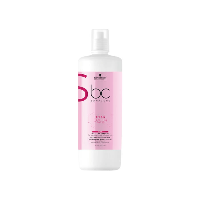 Schwarzkopf Bc Color Freeze Rich Shampoo 1000ml