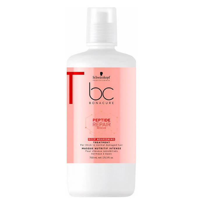 Schwarzkopf Bc Peptide Repair Rescue Deep Nourishing Treatment 750ml