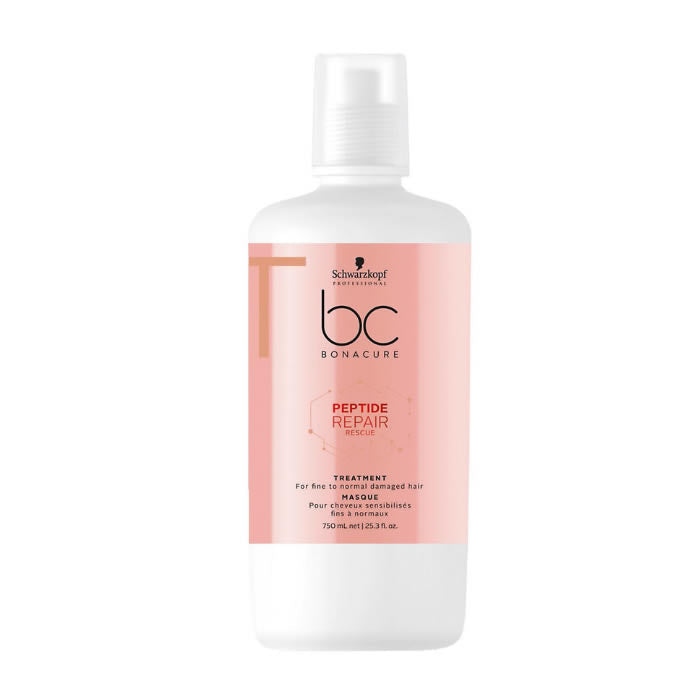 Schwarzkopf Bc Peptide Repair Rescue Treatment 750ml