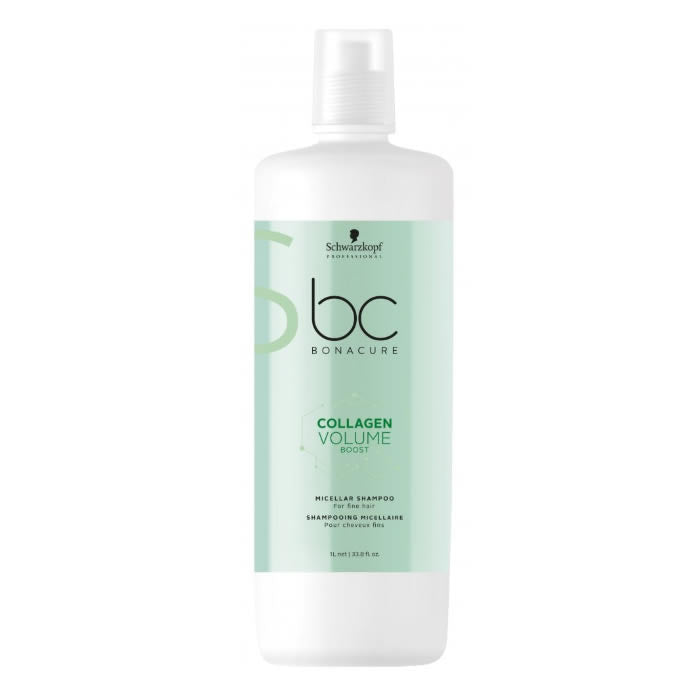 Schwarzkopf Bc Collagen Volume Micellar Shampoo 1000ml