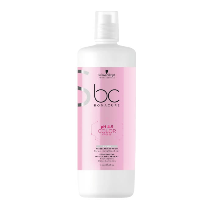 Schwarzkopf Professional Bc Color Freeze Silver Micellar Shampoo 1000ml