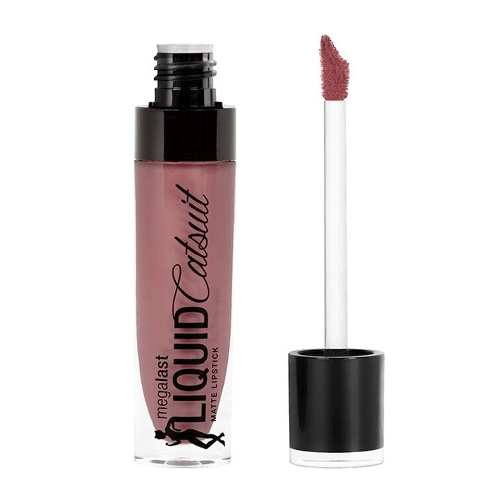 Wet N Wild Megalast Liquid Catsuit Matte Lipstick Rebel Rose